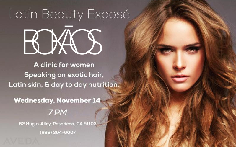Latin Beauty Expose – Nov 14th 7pm